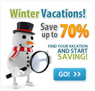 Winter Vacations! You can save up to 70%
